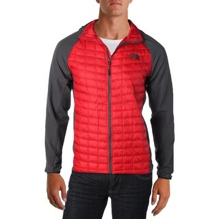 The North Face Mens Jacket Quilted Hooded - S