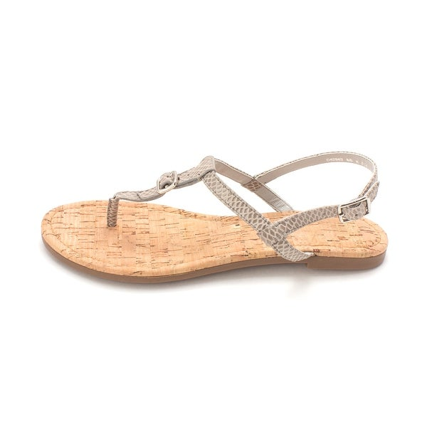 Cole Haan Womens Janellesam Open Toe Casual T-Strap Sandals - 6