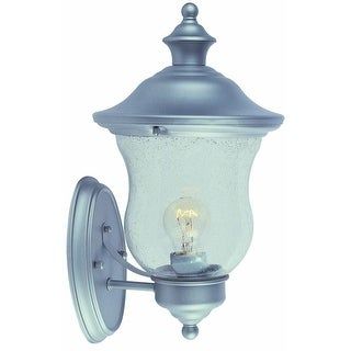 Design House 508978 Highland Collection Heritage Silver Uplight, Satin Nickel