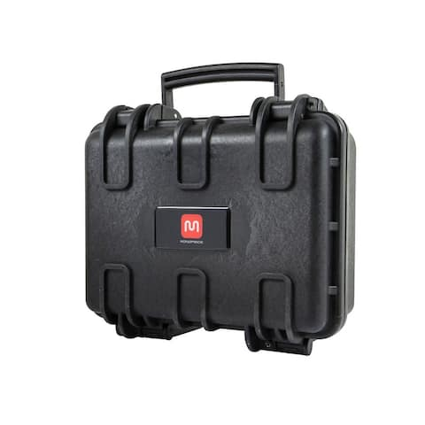 Monoprice Weatherproof Hard Case - 12in x 10in x 6in With Customizable Foam, Fits HUBSAN Quadcopter Drones