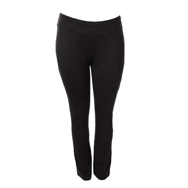 Taffy Womens Plus Yoga Pants Moisture Wicking