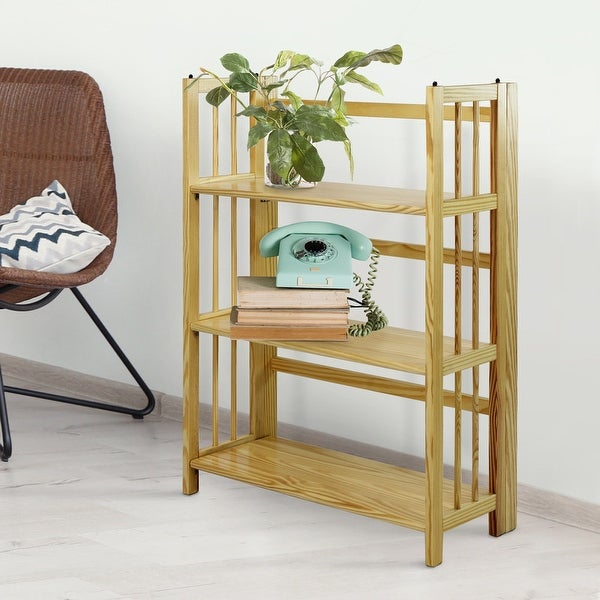 Porch & Den Edgemont Folding Stackable 27.5-inch Bookcase. Opens flyout.