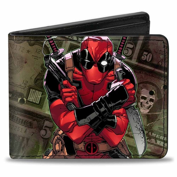 Marvel Universe Deadpool 2012 #5 Revenge Of The Gipper Variant Cover Pose Bi-Fold Wallet - One Size Fits most
