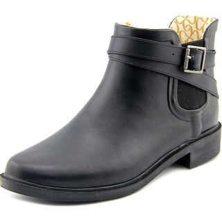 Chooka Double Strapped Chelsea Women Round Toe Synthetic Rain Boot