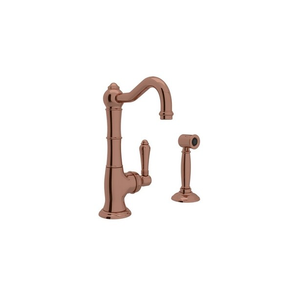 Rohl A3650LMWS-2 Country Kitchen Collection Kitchen Faucet with Side Spray
