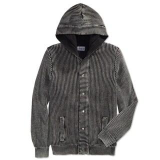 American Rag NEW Black Mens Size XL Cardigan Button-Down Sweater
