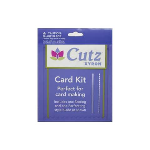 3505-31-00 xyron creatopia cutting blade card kit 1 2pc