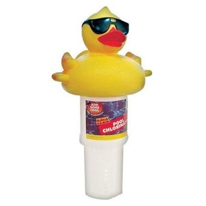 Game 4002 Derby Duck Character Floating Chlorinator Dispenser, 3""