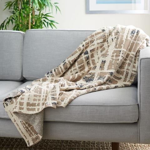 SAFAVIEH Twila 50 x 60-inch Cotton Throw Blanket