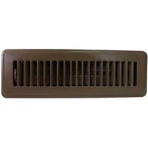 Mintcraft FR01-2X10B Floor Register, Brown