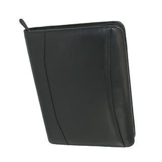 Winn International Leather Zip-Around Professional Organizer Portfolio, Black|https://ak1.ostkcdn.com/images/products/is/images/direct/7f0edb688e2da0431a0395789ef2779418e9cc3b/Winn-International-Leather-Zip-Around-Professional-Organizer-Portfolio%2C-Black.jpg?impolicy=medium