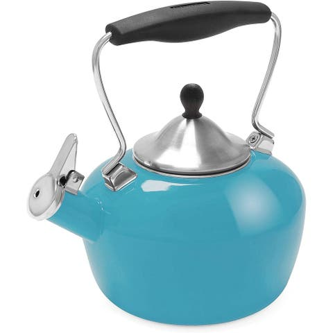 Chantal 37-CAT-BA Catherine Teakettle, 1.8 quart, Sea Blue