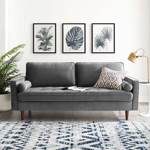 Carson Carrington Talby Velvet Sofa