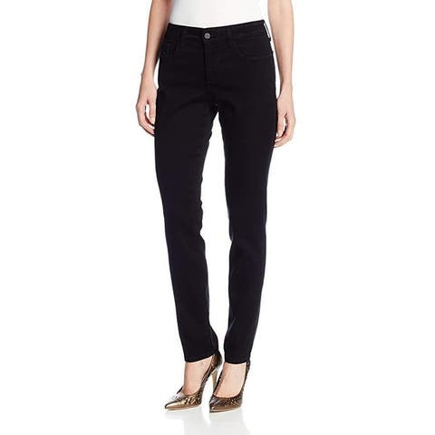 NYDJ Women's Petite Alina Legging Fit Skinny Jeans, Black, 12P