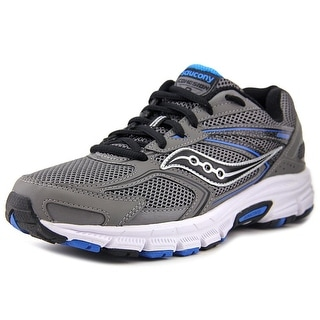 Saucony Cohesion 9 Men Round Toe Synthetic Gray Sneakers