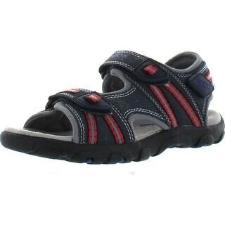 Geox Boys Jr Strada Fashion Sandals