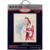 """Tender Gaze Counted Cross Stitch Kit-15.75""""X19.75"""" 14 Count"""