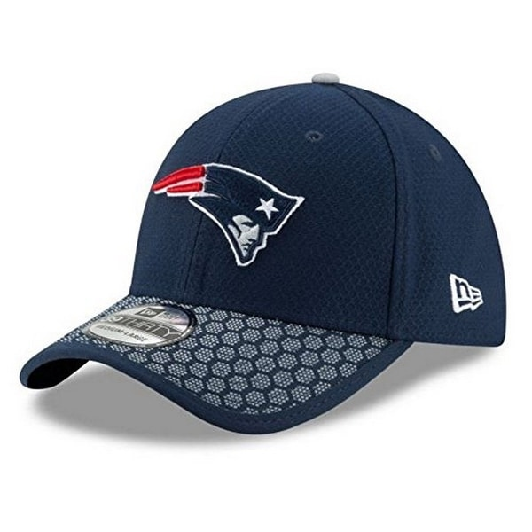 97602ebb9b73d0 Shop New Era Mens New England 39Thirty Sideline Hat, Navy - Free Shipping  On Orders Over $45 - Overstock - 22721135