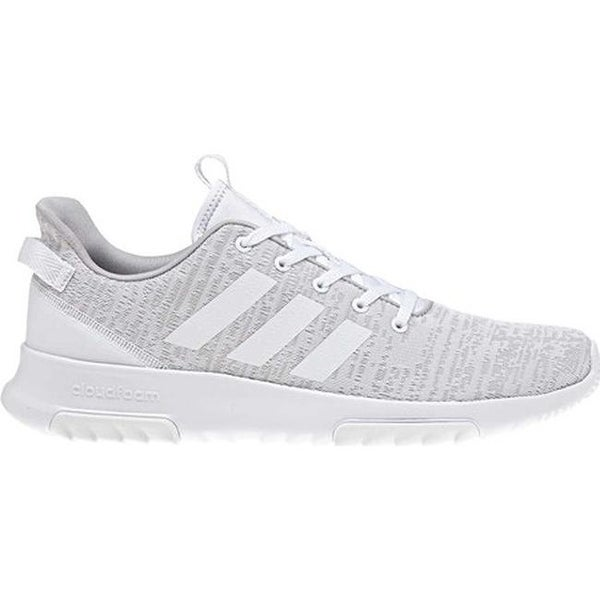 low priced ee74e 6fd44 Shop adidas Mens NEO Cloudfoam Racer TR Running Shoe Grey OneWhiteGrey  Two - Free Shipping Today - Overstock.com - 22863946