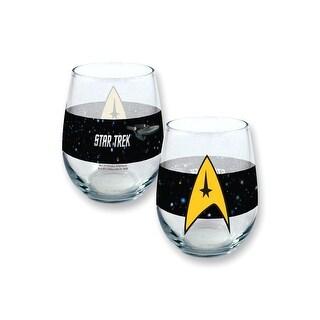 Stemless Star Trek 21oz Wine Glass
