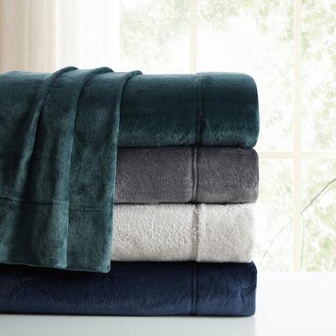 Asher Home Ultra-Soft Velvet Plush Sheet Set