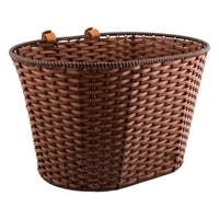 SUNLITE Basket Front Rattan Strp Std Brn W/Straps - TP-309P JB/NEW BRN