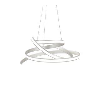 Oslo LED Chandelier // Silver - large