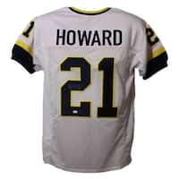 d433d87ed05 Desmond Howard Autographed Michigan Wolverines XL White Jersey Heisman JSA