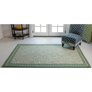 Link to Madcap Cottage by Momeni Under A Loggia Rokeby Road Indoor/Outdoor Rug Similar Items in Farmhouse Rugs