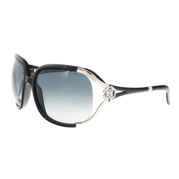 Shop Roberto Cavalli RC370 S B5 Talisia Black Oval Sunglasses - 62 ... a06a9965df