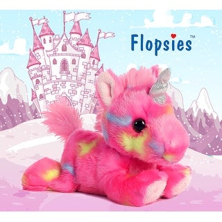 "7"" Bright Fancies Jellyroll Unicorn High Quality Plush"