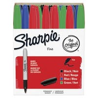 Sharpie Fine Permanent Markers, Assorted Colors, Set of 36