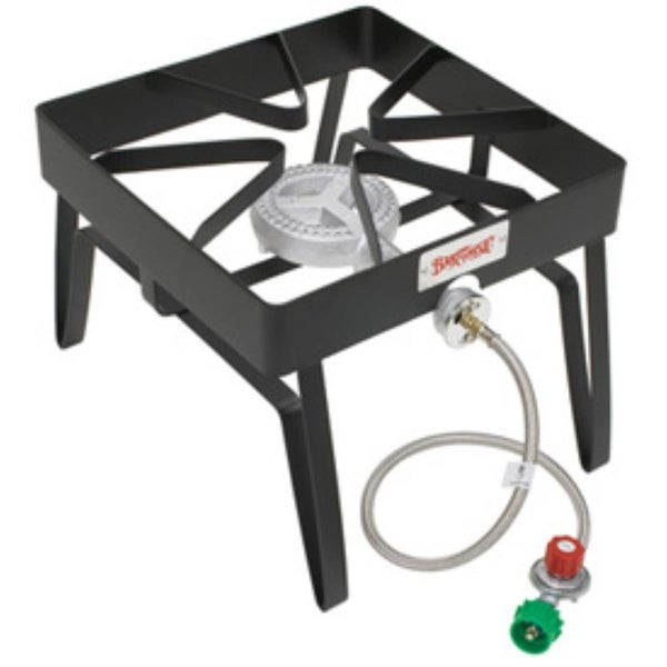 Bayou Classic SQ14 Square Outdoor Patio Stove - Black