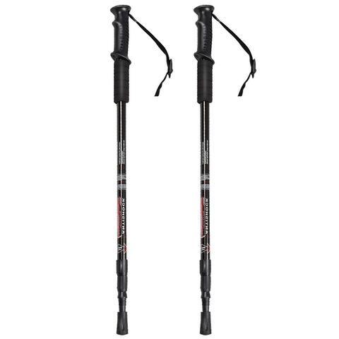 Generic Pair 2 Trekking Walking Hiking Sticks Poles Alpenstock