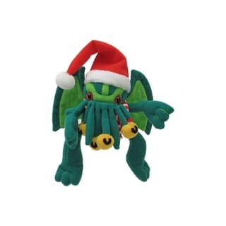 """Santa Cthulhu Large 16"""" Plush https://ak1.ostkcdn.com/images/products/is/images/direct/7f1d600211fe8af12e89fd40360c3cbd0470841a/Santa-Cthulhu-Large-16%22-Plush.jpg?impolicy=medium"""