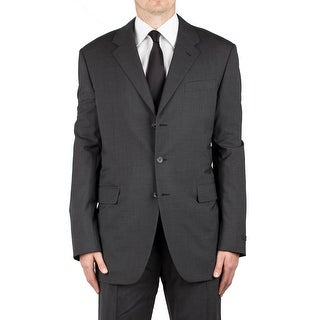 Prada Men's Wool Three-Button Suit Grey