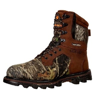 Rocky Outdoor Boots Men BearClaw 3D Waterproof Mossy Oak