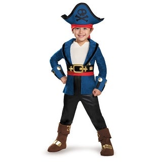 Toddler Deluxe Neverland Pirates Captain Jake Costume