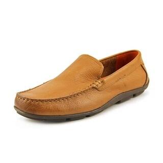 Tommy Bahama Nassau Venetian Men Moc Toe Leather Loafer