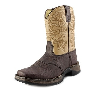 Durango Rebel Youth Round Toe Synthetic Tan Western Boot