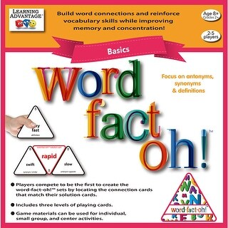Word Fact Oh Basic Game