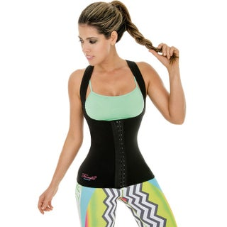 Neo Sweat Hot Slimming Vest 3 Row Of Hooks Body Shapers Neoprene Sauna Gym Sport Aerobic Cami Workouts Fajas (3 options available)