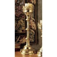 Design Toscano Chartres Cathedral Gothic Candlestick: Grande