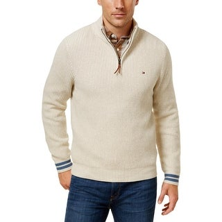 Tommy Hilfiger Mens Big & Tall Barney Sweater Striped Long Sleeves - 3XL