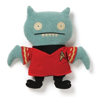 """Ugly Dolls Star Trek 12"""" Plush: Ice-Bat Scotty - multi"""