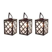 Living Accents 62AG611W Living Accent C7 Brown Lantern Light Set, Clear, 10 lights