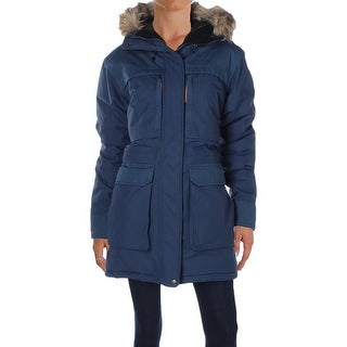 Fjallraven Womens Parka Faux Fur Outerwear - L