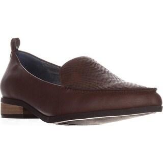 Dr. Scholls Elegant Slip-on Loafers, Copper Brown