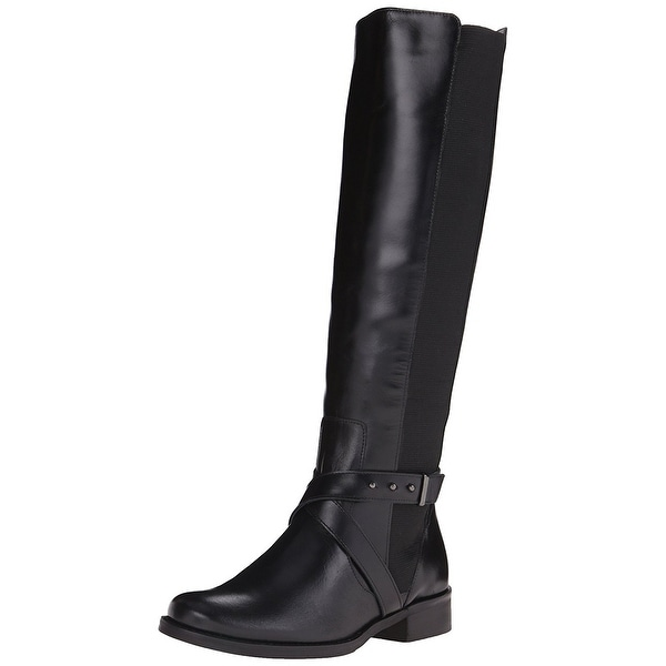 STEVEN by Steve Madden Womens Sydnee Pointed Toe Knee High Fashion Boots