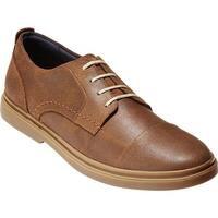 Cole Haan Men's Brandt Cap Toe Oxford Bourbon Leather/Gum